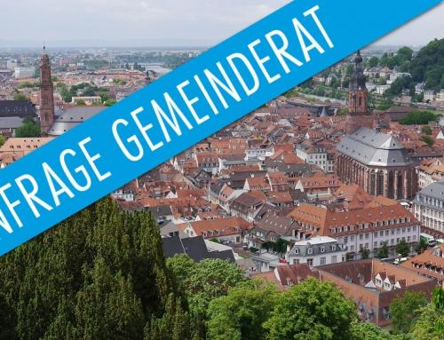 Anfrage 6/2020: Graffiti-Entfernung in Heidelberg