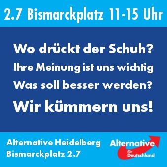 Kümmerkasten 2.7 Bismarckplatz