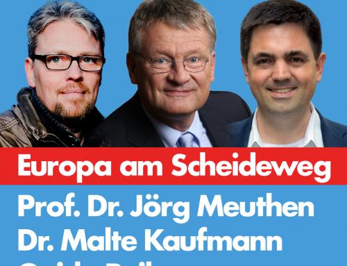 Meuthen kommt nach Heidelberg. Veranstaltung am 9. November