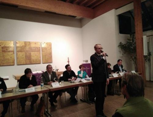 Podiumsgespräch zur Kommunalwahl in Kirchheim