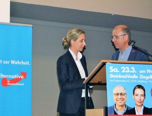 Wahlkampfauftakt Kommunalwahl und Europawahl mit Dr. Alice Weidel