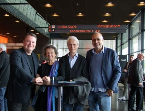 AfD Heidelberg beim Auftakt des AfD-Europawahlkampfes in Offenburg dabei.