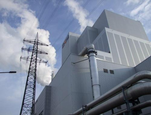AfD besucht Großkraftwerk Mannheim