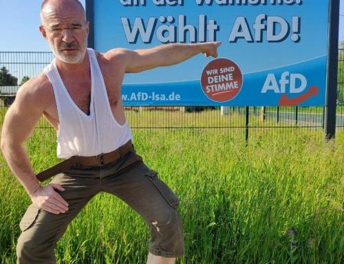 Heidelberger Wahlkampfhilfe in Sachsen-Anhalt